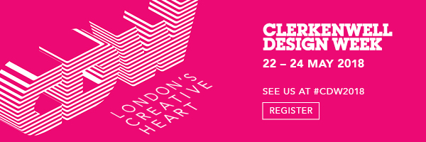 Clerkenwell Design Week 2018 Register Custom Lighting Fabric Nulty Bespoke