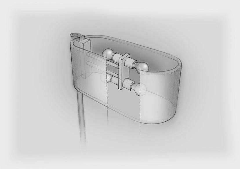 Sketch Table Mounted Lamp Nulty Bespoke