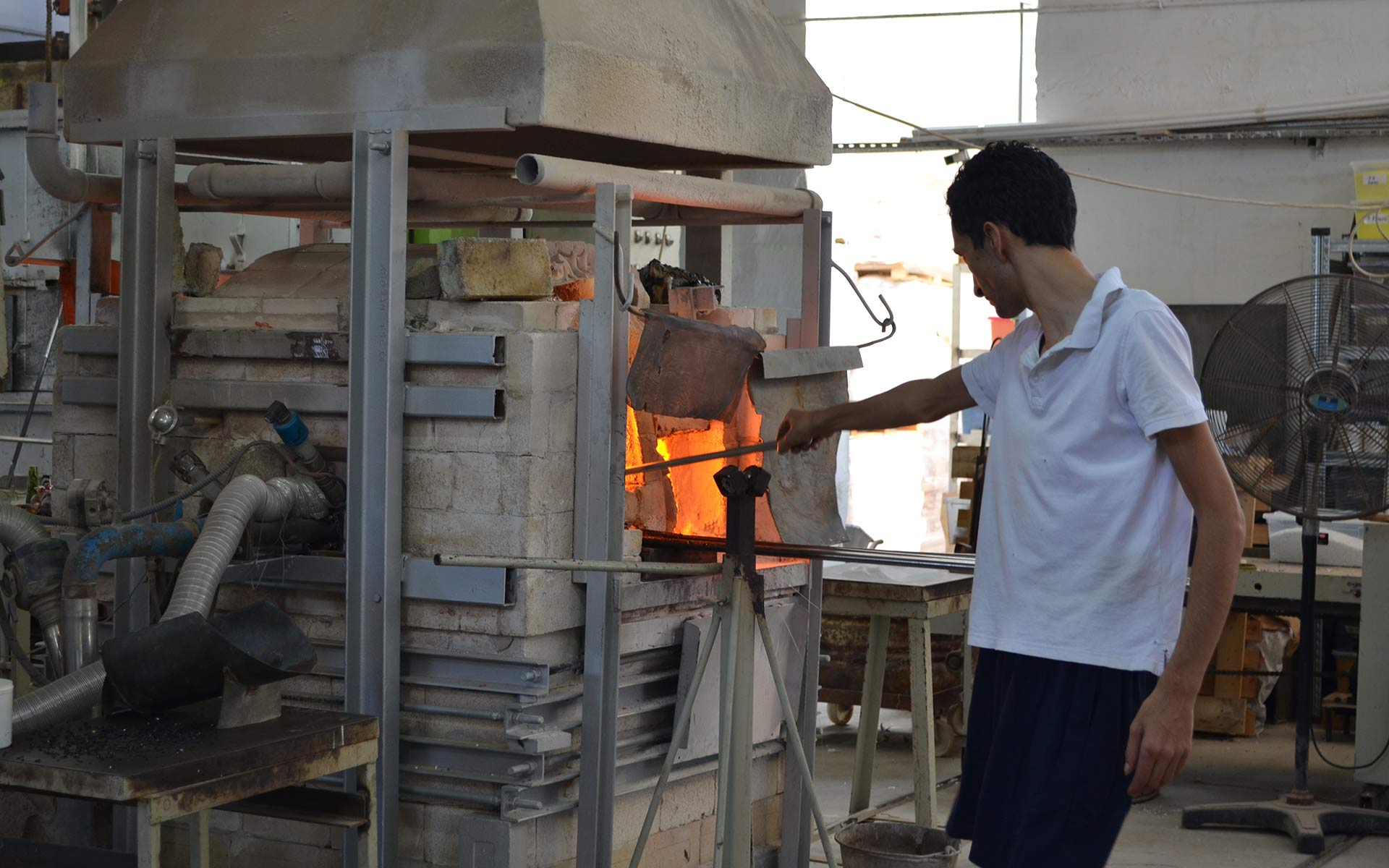 Glass Blower Process Furnace Malta