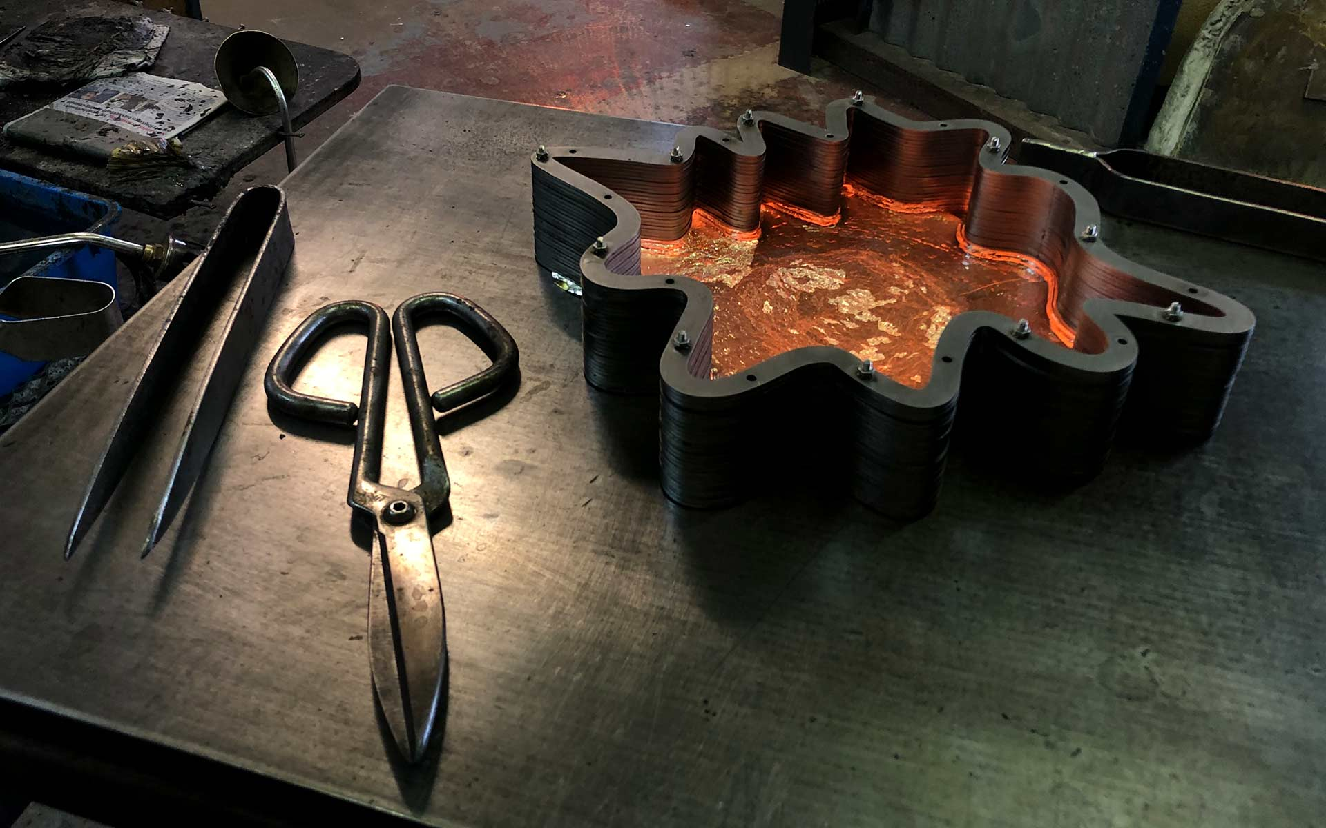 Glassblowing Mould Lighting Product Design Manufacture Process Nulty Bespoke