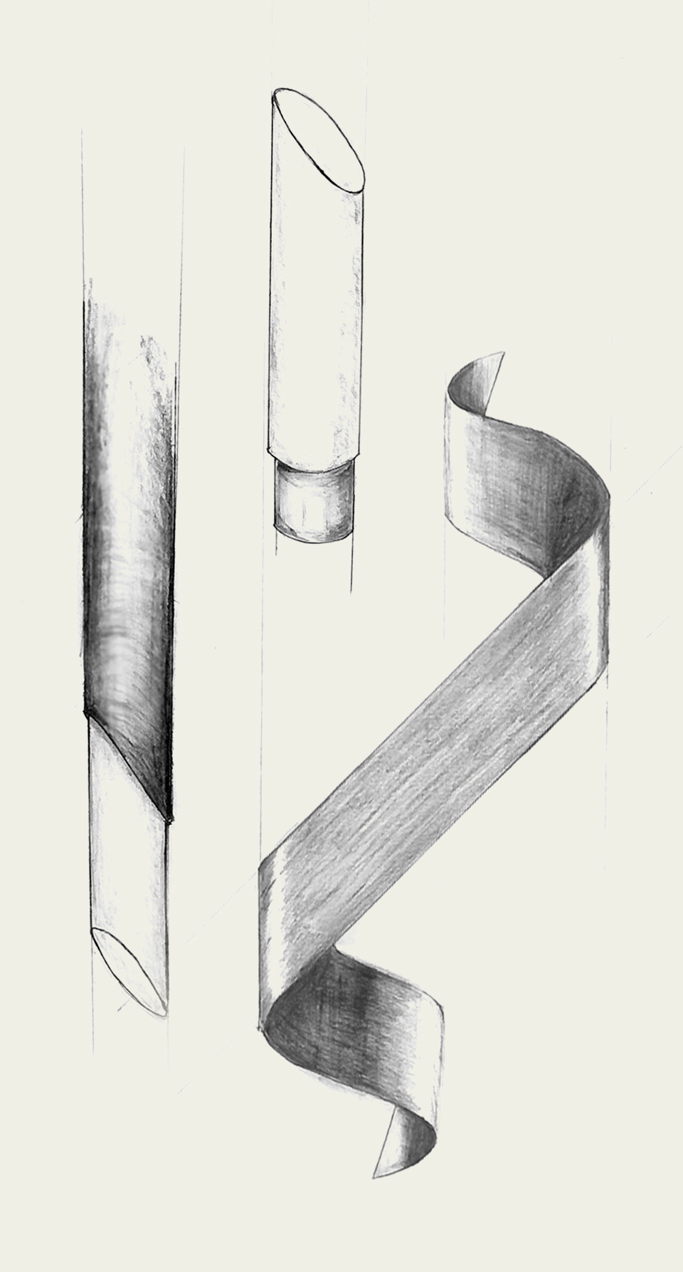 Sleek Modern Wall Light Precision Cut Bevelled Edges Brushed Brass Concept Sketch Nulty Bespoke