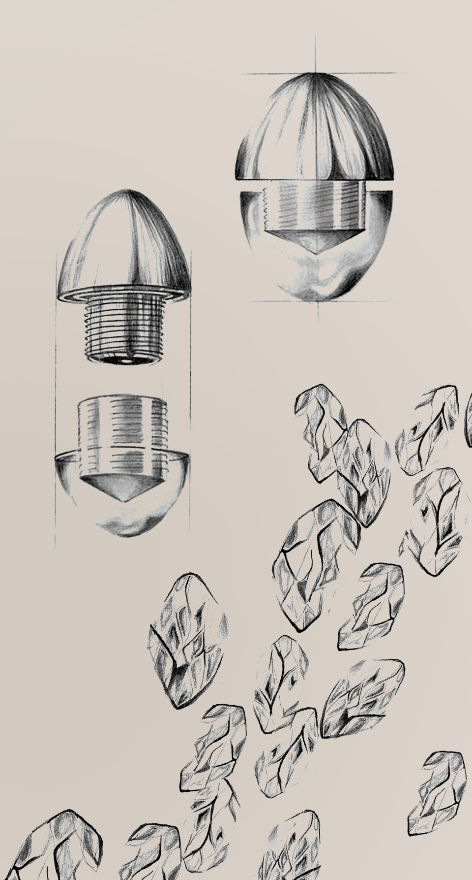 Custom Light Feature Concept Design Sketch Handmade Luminaire Components Designers London Nulty Bespoke