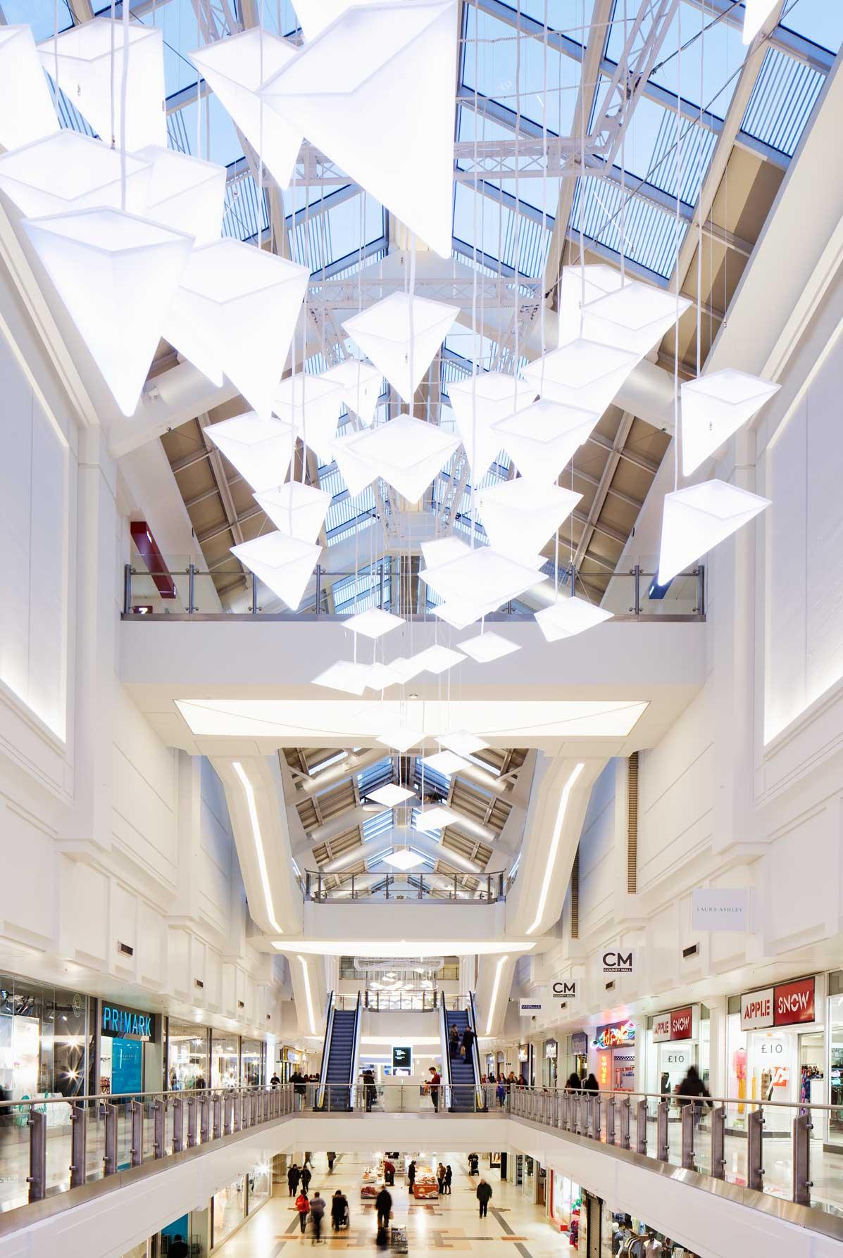 County Mall Nulty Bespoke Custom Handcrafted Lighting